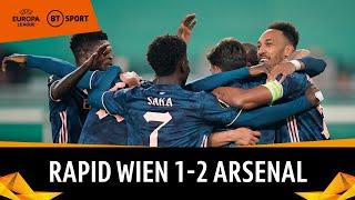 Rapid Vienna v Arsenal (1-2) | UEFA Europa League highlights