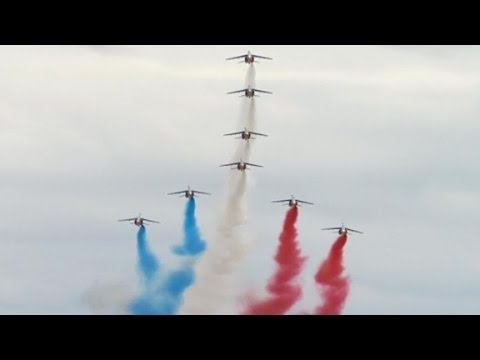 Bastille Day celebrations in Paris