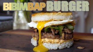 The Korean Bibimbap Burger