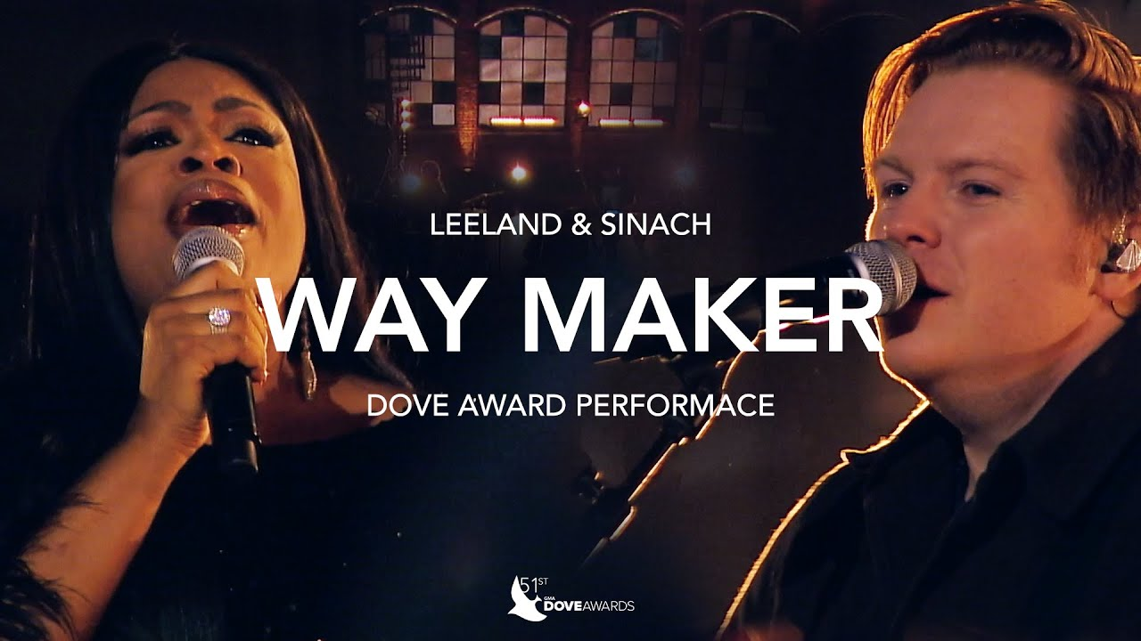 Leeland, Sinach & Mandisa - Way Maker | Live From The Dove Awards 2020