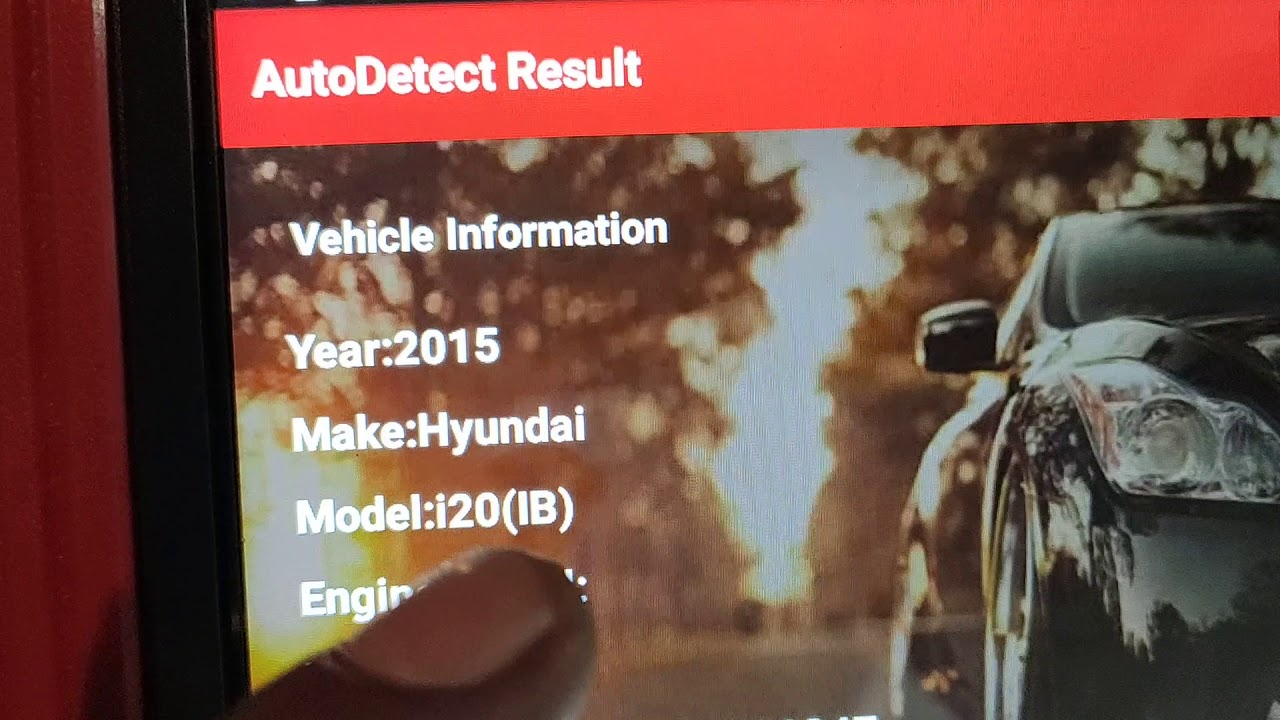 How To scanning Hyundai i20 parktronic sensors not working fault sensors by  Al Ansari Automobile