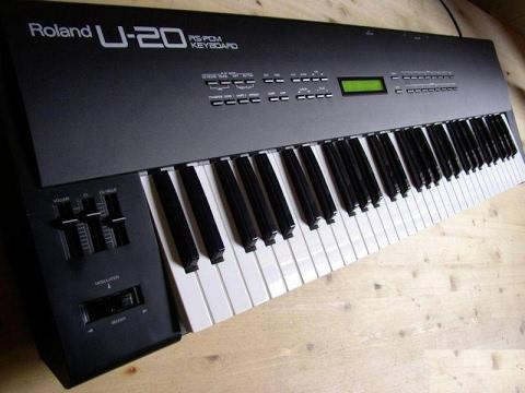 Roland U-20 Digital Synthesizer Demo song (HQ Audio)