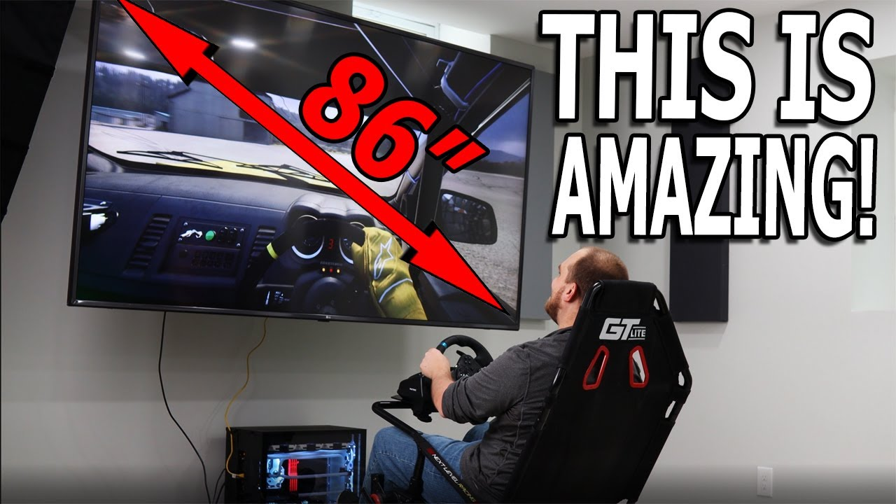 I may have OVERDONE it | Storable home racing SIMULATOR