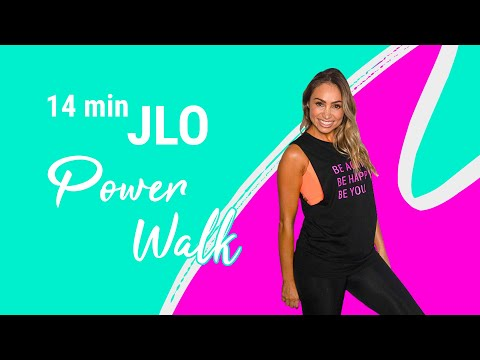 *JLO MIX* WALK UP TO THE BEAT | POWER WALK | AT HOME WALKING WORKOUT