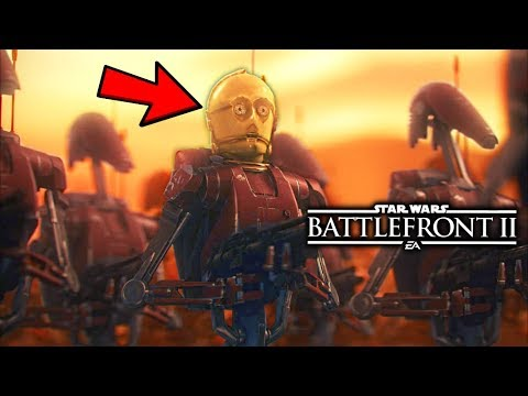 Star Wars Battlefront 2 - Funny Moments #28 MORE Prequel Memes thumbnail