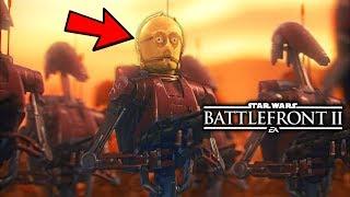 Star Wars Battlefront 2 - Funny Moments #28 MORE PREQUEL MEMES