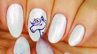 Nail Art. Unicorn 🦄