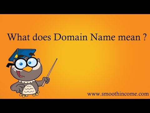 What does Domain Name Mean in Computer Terms