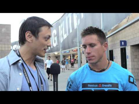 Interview: Dan Bailey - Reebok CrossFit Games 2012