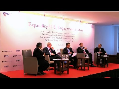 [Panel Discussion]  Expanding U.S. Engagement in Asia