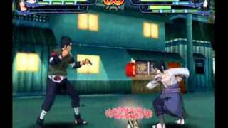 Naruto Shippuden: Clash Of Ninja Revolution - Itachi & Sasuke vs Asuma & Orochimaru (Two-Man Squad)