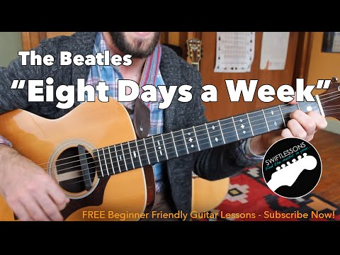 how to play beatles i feel fine on guitar