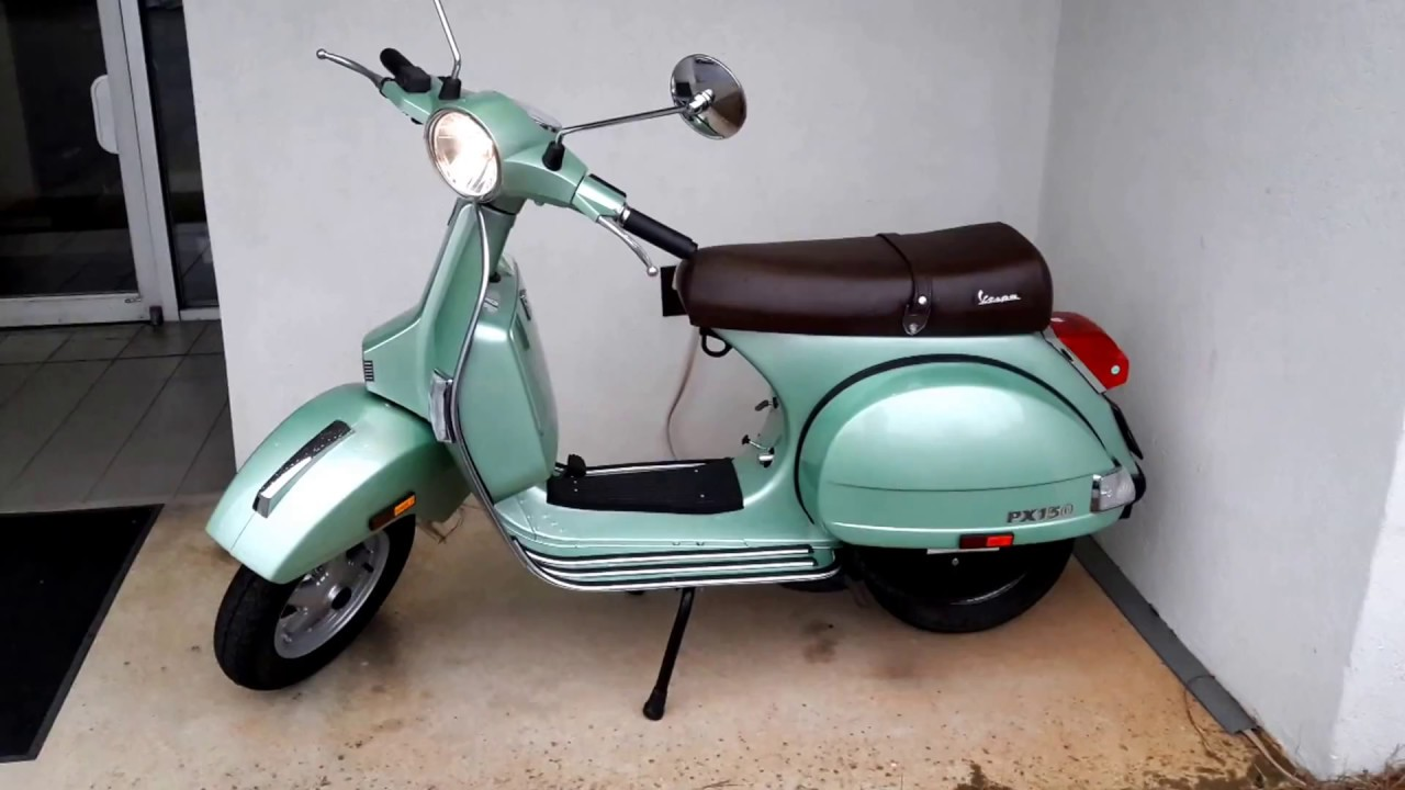 2005 vespa px 150 two stroke limited edition 138 of 500. Black Bedroom Furniture Sets. Home Design Ideas