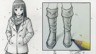How to Draw Boots [Narrated Step-by-Step]