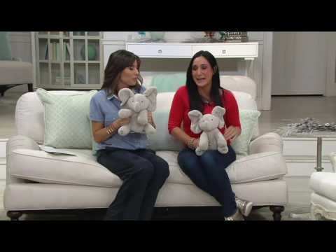 Flappy Animated Plush Elephant with Music By: Gund on QVC