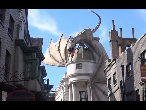Full Tour Of The Wizarding World of Harry Potter Universal studios Orlando