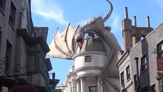 Full Tour Of The Wizarding World of Harry Potter Universal studios Orlando