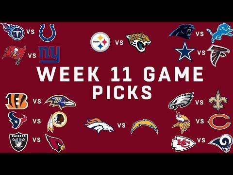 Week 11 NFL Game Picks | NFL