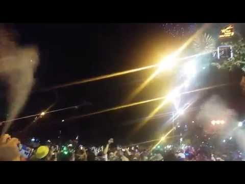 New Year's Eve 2014 in Santiago, Chile