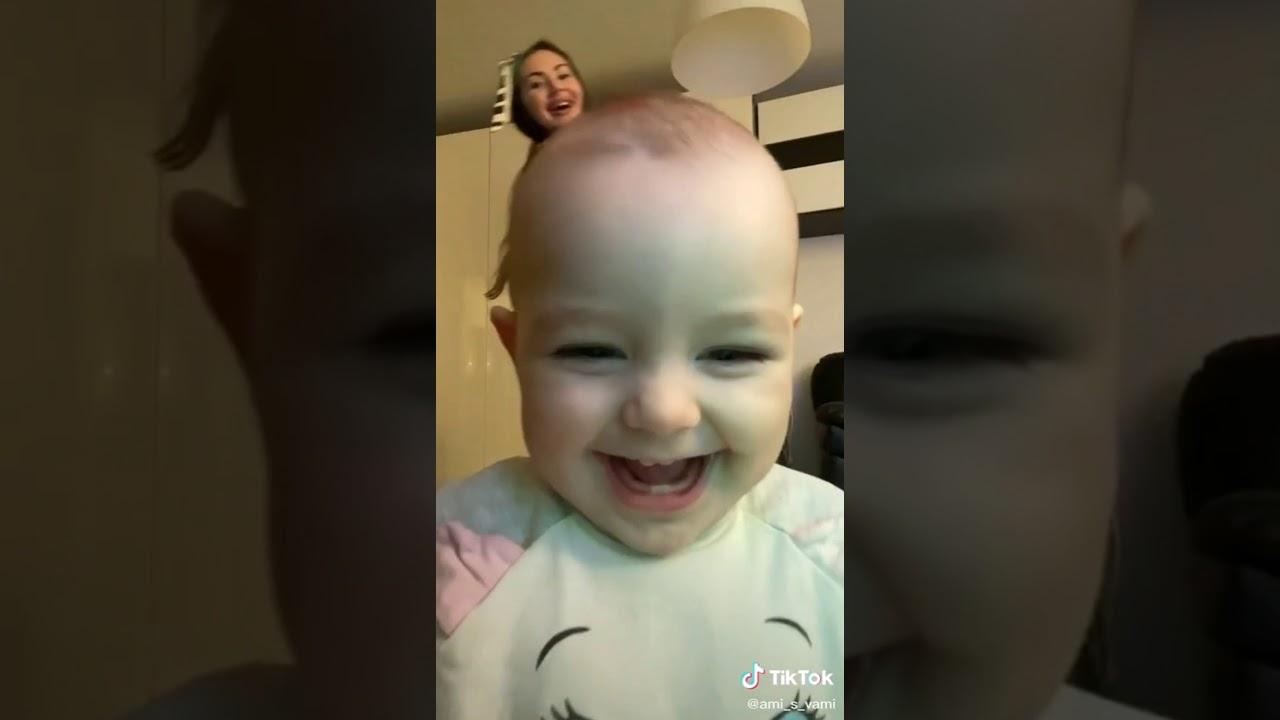 Cute baby tiktok - YouTube
