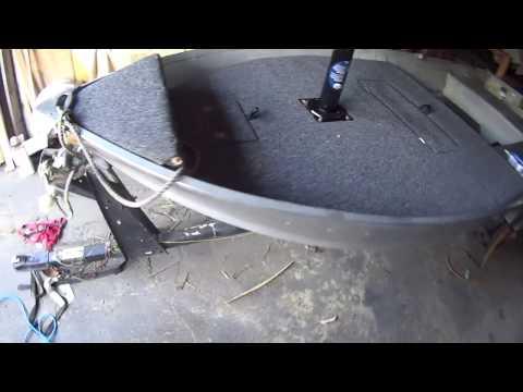 Aluminum Boat Casting Deck Project
