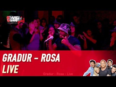 Gradur - Rosa - Live - C'Cauet sur NRJ