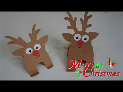 Paper Reindeer Craft for kids || Christmas tree decoration || Easy and quick