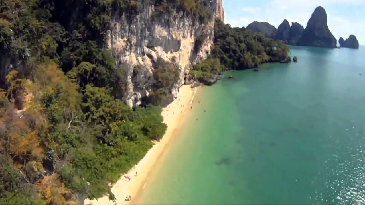 Basejump On Ton Sai Beach Krabi Thailand