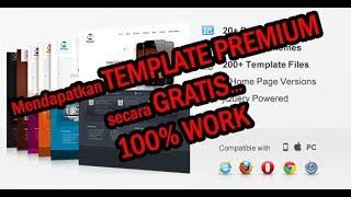 Gambar cover Cara download template Premium secara Gratis Work 100% (HTTRACK)