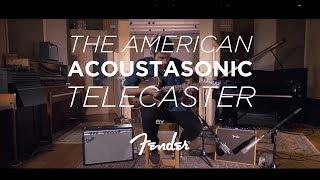 Fender The American Acoustasonic Telecaster | CME Playthrough | Nathaniel Murphy