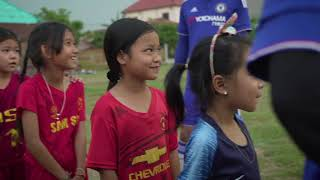 """FIM-Family Project Laos 2nd part - """"Education & Integration through Football"""""""