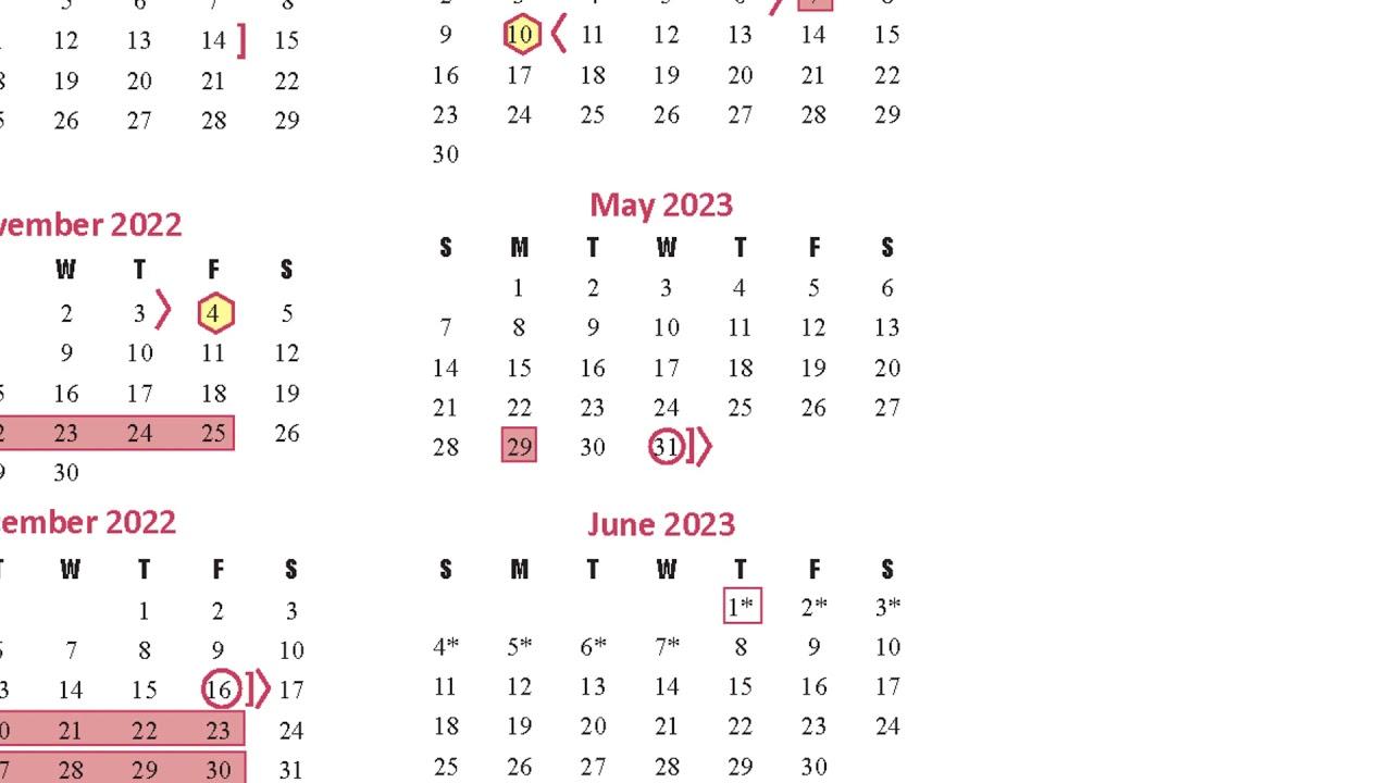 Katy Isd Calendar 2022 2023.Instructional Calendar Survey Video 2022 2023 School Year Youtube