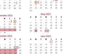 Katy Isd 2022 23 Calendar.Instructional Calendar Survey Video 2022 2023 School Year Youtube