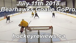 July 11th 2018 Bearhawks Hockey Goalie GoPro