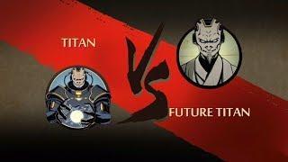 Shadow Fight 2 Titan Vs Future Titan