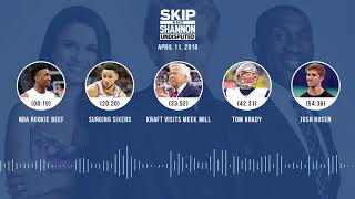UNDISPUTED Audio Podcast (4.11.18) with Skip Bayless, Shannon Sharpe, Joy Taylor | UNDISPUTED thumbnail