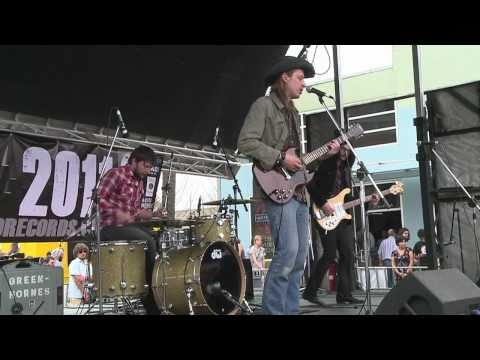 "The Greenhornes ""Better Off Without It"" & ""Underestimator"" live at Waterloo Records SXSW 2011"