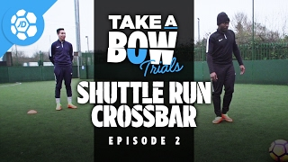 Stevo The Madman Vs Craig Mitch - Take a Bow Trials: Shuttle Run Crossbar (Nike Hypervenom 3)