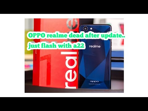Oppo Realme || cph 1859 || dead after update (downgrade with a22 version )  pattern pin frp unlock !!