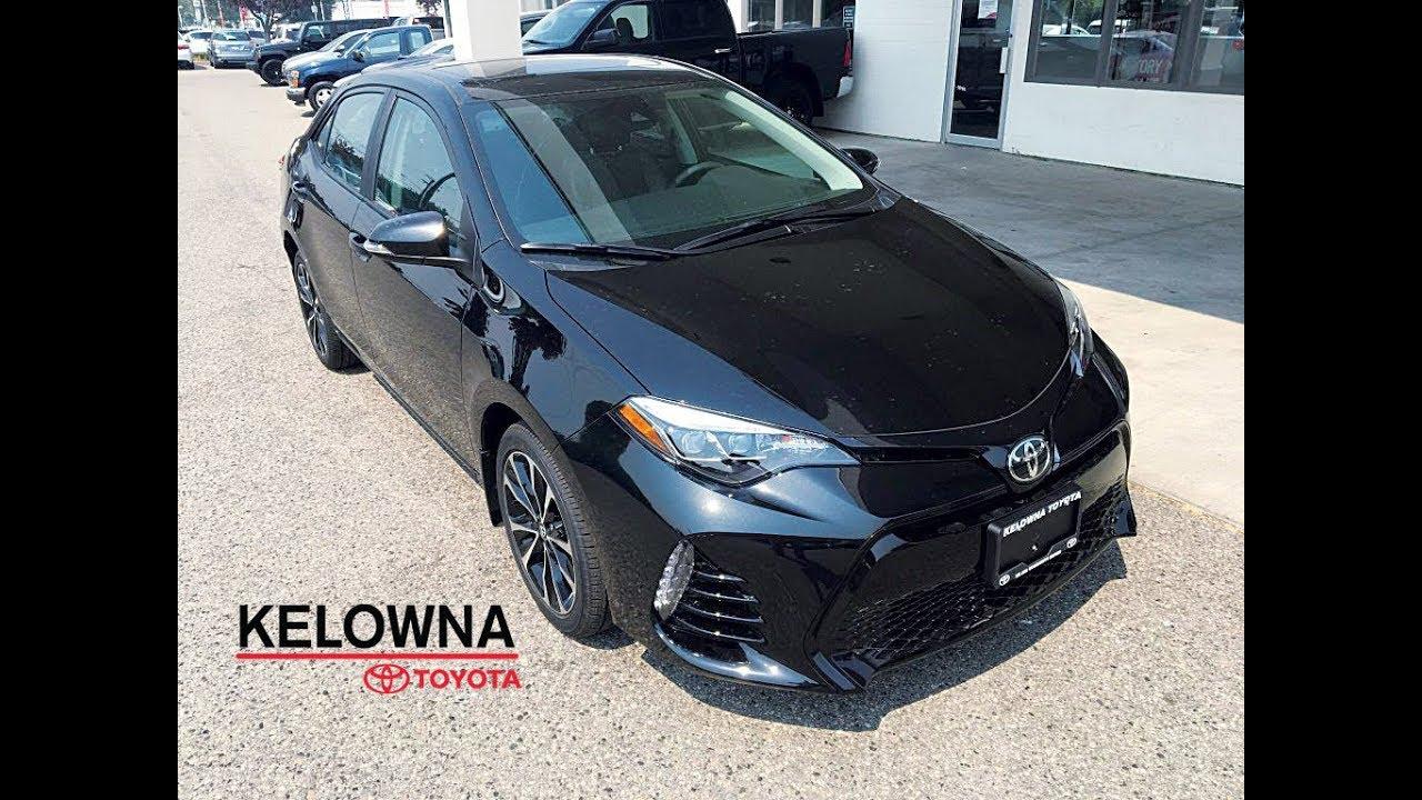 2017 Toyota Corolla Se Black Sand Pearl Youtube