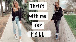 THRIFT with me for FALL TRENDS 2019 | part 2