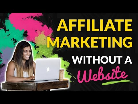 AFFILIATE MARKETING WITHOUT A WEBSITE IN 2019 | Marissa Romero