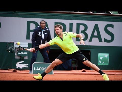 Stan Wawrinka v Albert Ramos-Vinolas Highlights - Men's Quarterfinals 2016 - Roland Garros