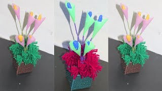 How to Make  Flower with Paper | Making Paper Flowers Step by Step | Paper Flower Making