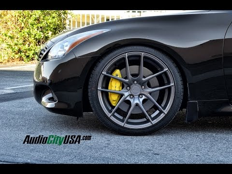 Infiniti G37 Coupe 2011 On 20 Quot Niche Wheels Youtube