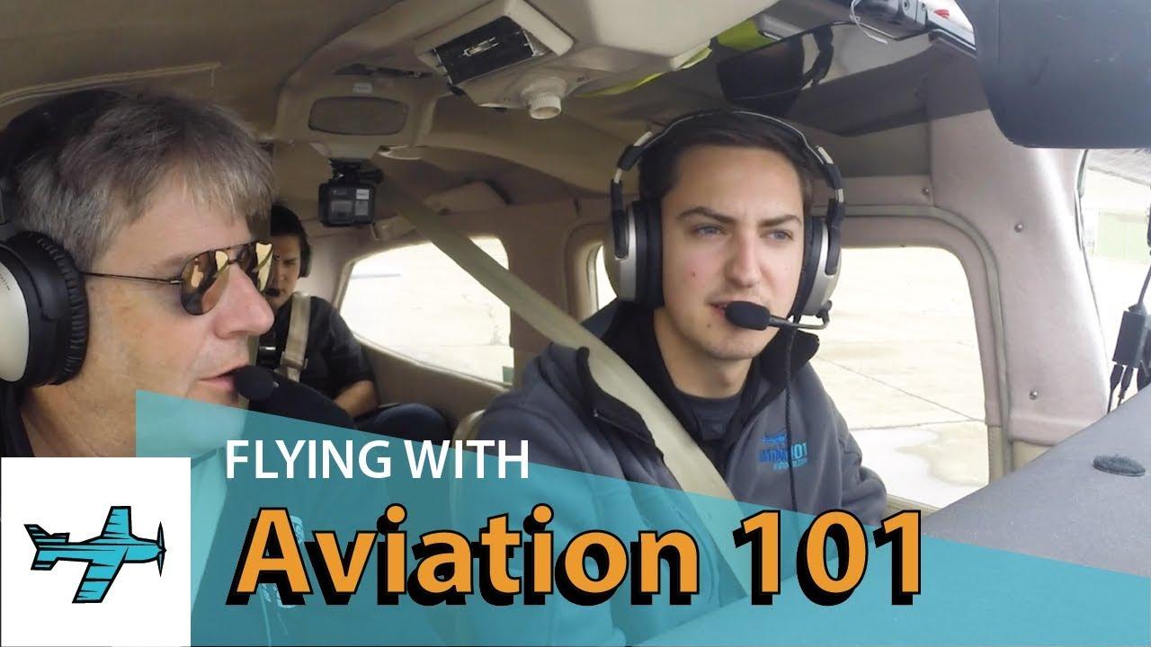 Aviation101's Josh Flowers flies my plane! TakingOff Ep40