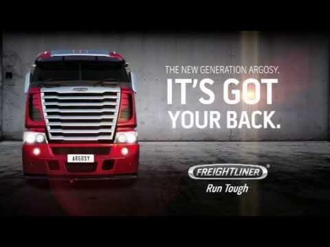Freightliner Argosy Trucks - Comfort & Style
