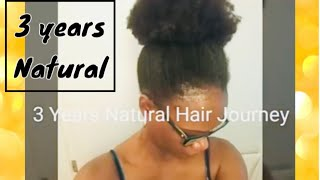 3 Years Update + Length check 4c Natural Hair Journey