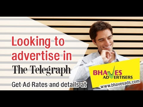 The Telegraph Newspaper Ad Rates