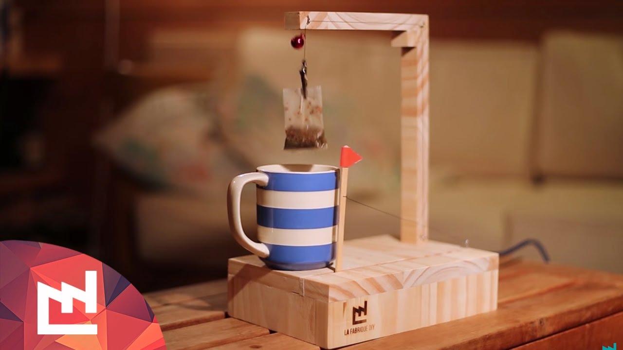 Tea machine - YouTube